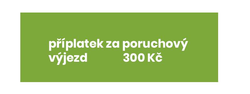 Elektropráce Brno - výjezd v nepracovní době cena